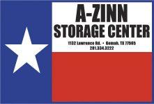 A-Zinn Storage Logo