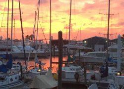 SHIPYARD SUNSET
